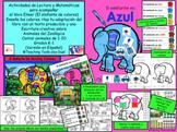 Actividades para el libro Elmer, Animales del Zoológico, Los Colores y Contar K1
