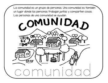 Actividades sobre el tema MI comunidad Escolar