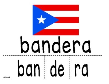 Actividades sobre los símbolos patrios de Puerto Rico