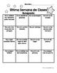Actividades y escritura Ultima semana de la escuela- Last