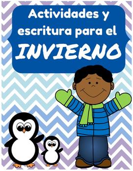 Actividades y escritura para enero- Invierno (January /Winter in Spanish)