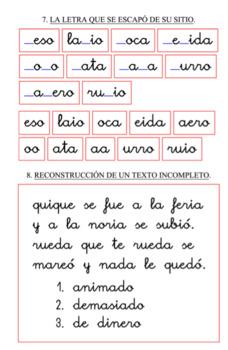 Actividades y juegos de alfabetización en español