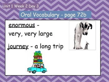 Reading Street Flipchart Common Core Second Grade Unit 1 Week 2- Exploring