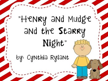 Reading Street Flipchart Common Core Second Grade Unit 1 Week 3- Henry/Mudge