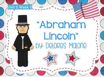 Reading Street Flipchart Common Core Second Grade Unit 2 Week 2 Abraham Lincoln