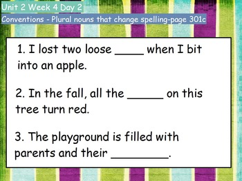 Reading Street Flipcharts Common Core Second Grade Unit 2 Weeks 1-5 BUNDLE!!