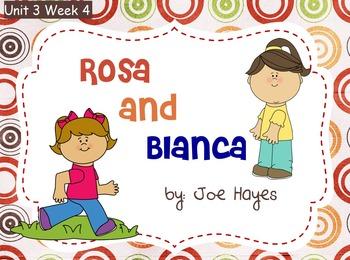 Reading Street Flipchart Common Core Second Grade Unit 3 Week 4 Rosa & Blanca
