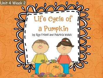 Reading Street Flipchart Common Core Second Grade Unit 4 Week 2-Pumpkin Life