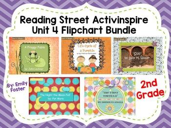 Reading Street Flipcharts Common Core Second Grade Unit 4 Weeks 1-5 BUNDLE!!