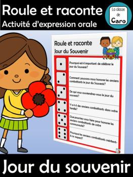Activité d'expression orale - Jour du souvenir - Roule et raconte
