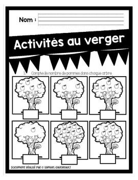 Activité de dénombrement sur les pommes
