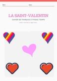 Activité de français sur la St-Valentin