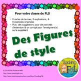 Activité et affiches - Figures de style (French - Literary