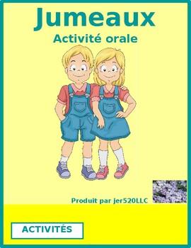 Activités (Activities in French) Jumeaux Speaking activity