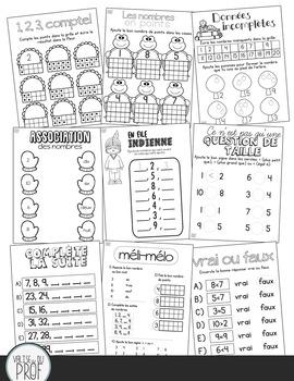 Activités + Cahier d'arithmétique 1 : les nombres