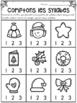 Activités SANS PREP! Noël - FRENCH No-Prep Christmas Math & Literacy