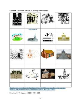Activites avec Vocabulaire d'Edifices