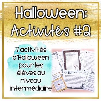 Activités d'Halloween Paquet 2