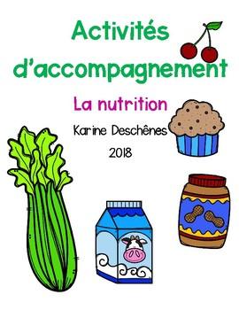 Activités d'accompagnement-La nutrition