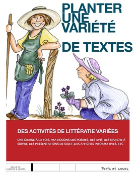 French Litteracy Centers / Writing unit / French immersion / Core French