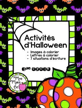 Activités de l'Halloween