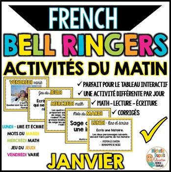Activités du matin - JANVIER - French Bell Ringers