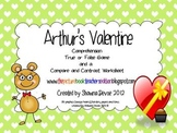 Activites inspired by Arthur's Valentine by Marc Brown