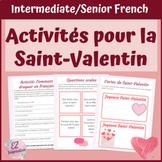 Activités pour la Saint-Valentin l French St. Valentine's Day Activities