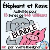 Compréhension de lecture avec ÉLÉPHANT et ROSIE de MO WILL