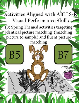 Activities Aligned with ABLLS-R Visual Performance {Skills B5  B7}