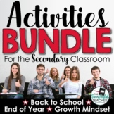 Activities BUNDLE for Secondary Students