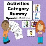 Activities Categories Rummy - Spanish Edition