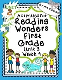 Activities For Reading Wonders First Grade Unit 2 Week 4 D