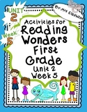 Activities For Reading Wonders First Grade Unit 2 Week 5