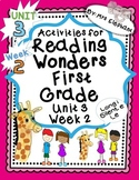 Activities For Reading Wonders First Grade Unit 3 Week 2 long i silent e