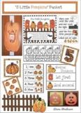 "Activities & Pumpkin Craft For The ""5 Little Pumpkins Sitting On A Gate"" Poem"