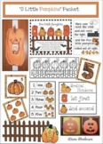 "Pumpkin Activities & Pumpkin Craft, For The ""5 Little Pumpkins"" Halloween Poem"