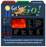 Activities: Get Set...Go! Volume 1, Words