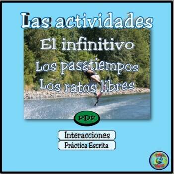 Bilingual Activity Vocabulary / Hobbies & Leisure Time / L