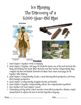 Activities- Ice Mummy: The Discovery of a 5,000 Year Old Man