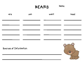Activities Inspired by Bear Says Thanks