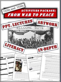 Canada after World War One - Package and PPTs - 28+ Engagi
