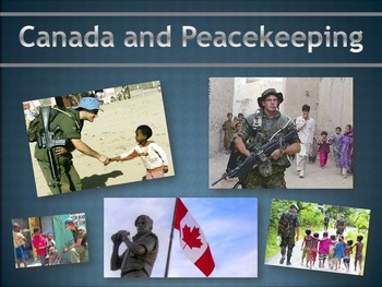 Activities Package: Canada and Peacekeeping