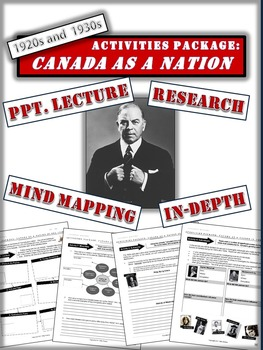 Canada and the 1920s - Growth of Independence - 17+ Engaging Pages and Slides!