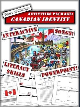 Canadian Culture and Identity (1960s to Present) Package: In-depth and Engaging!