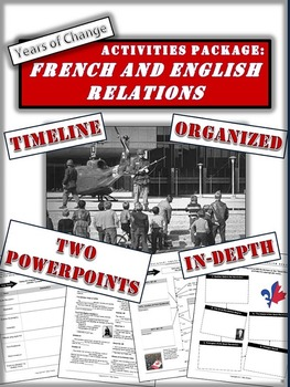 Activities Package: French-English Relations in Canada (1960s-2000)