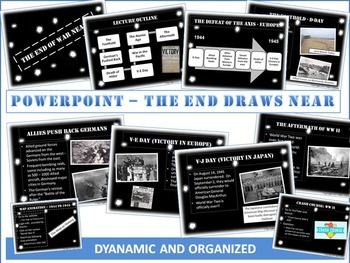"""World War 2 - """"D-Day to Victory""""- Activity Package, Dynamic PPTs and more!"""