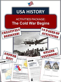 Cold War Begins: An Engaging Map Animation Activity!