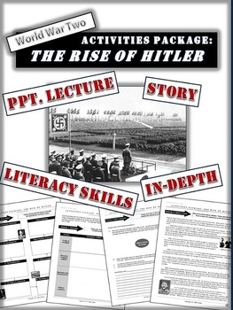 Hitler's Rise to Power - Activity Package - 20 Engaging Pages/Slides!