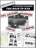 Appeasement and the Road to World War 2 - Activity Package - 20+ Pages/Slides!